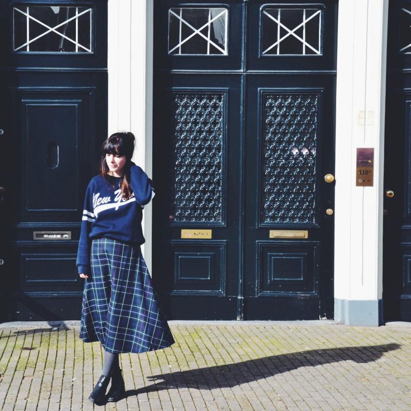 Strolling through Singel, Amsterdam