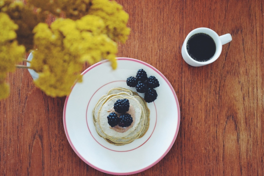 blackberry pancakes © Janine Juna Grafe