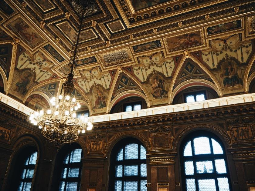 Alexandra Book Café Budapest © Janine Juna Grafe