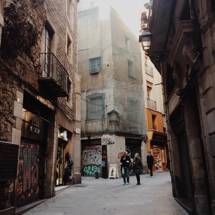 El Gotico Barcelona © Janine Juna Grafe