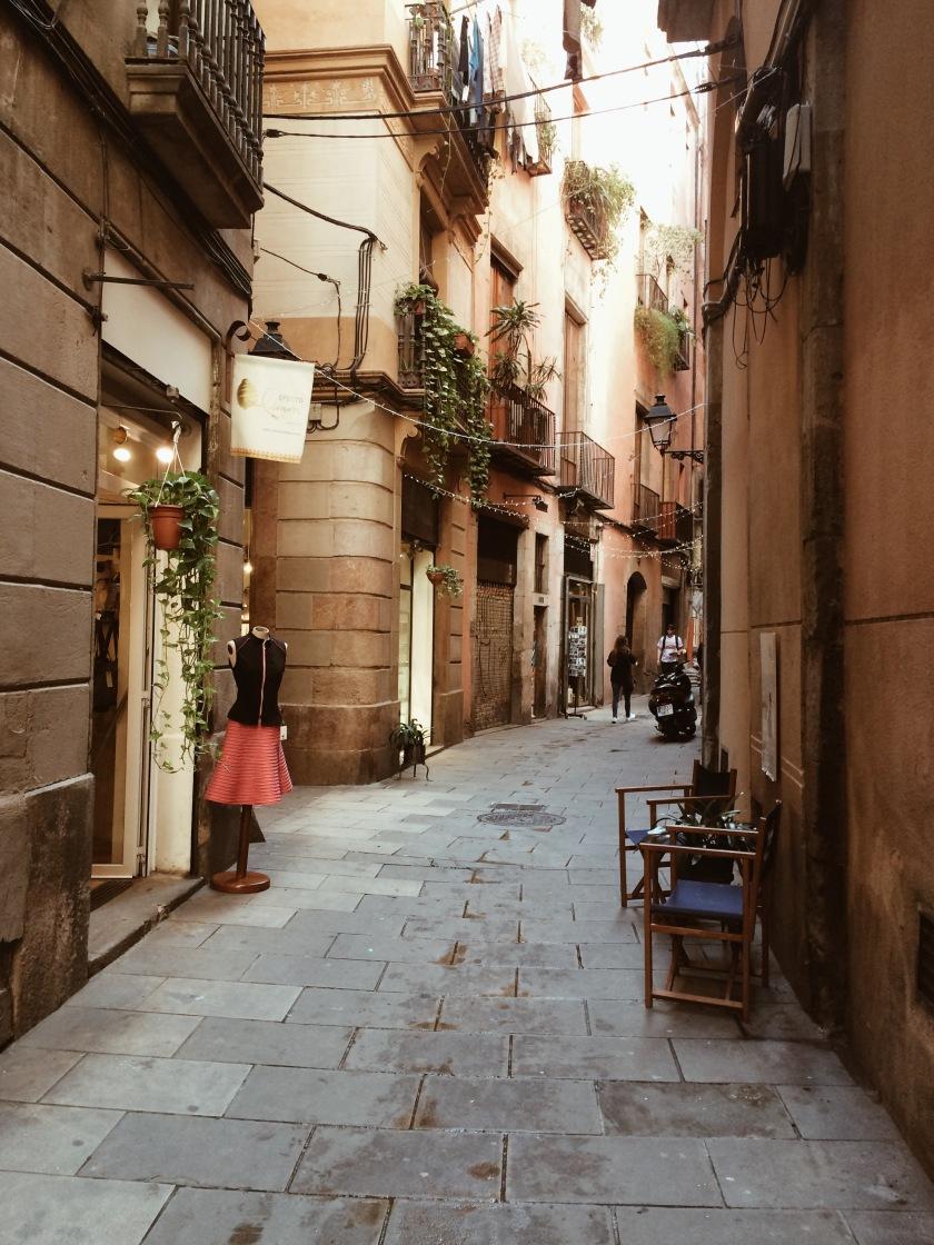 Barcelona El Born © Janine Juna Grafe