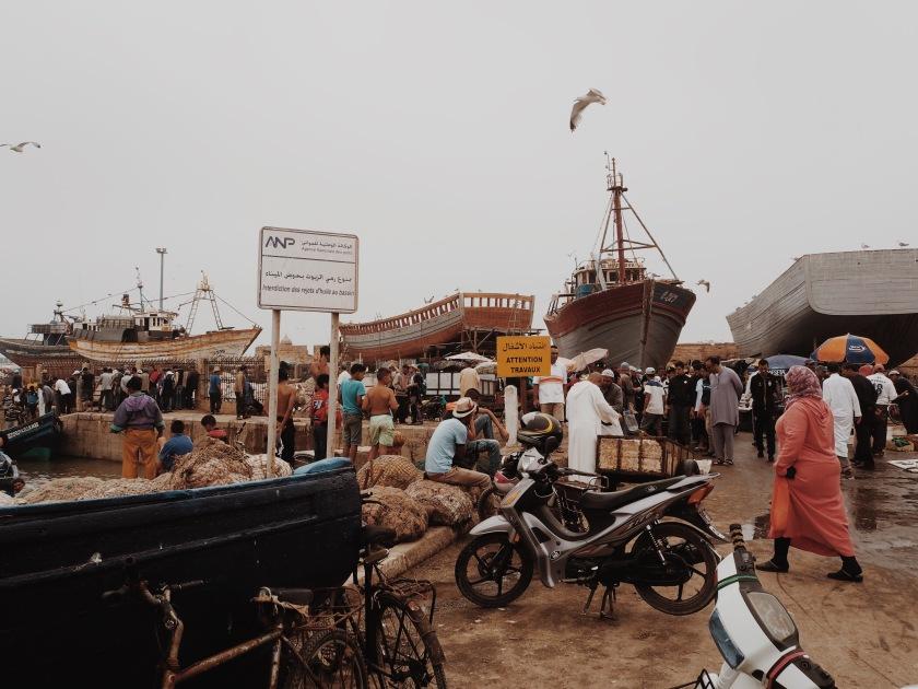 Port Essaouira © Janine Juna Grafe
