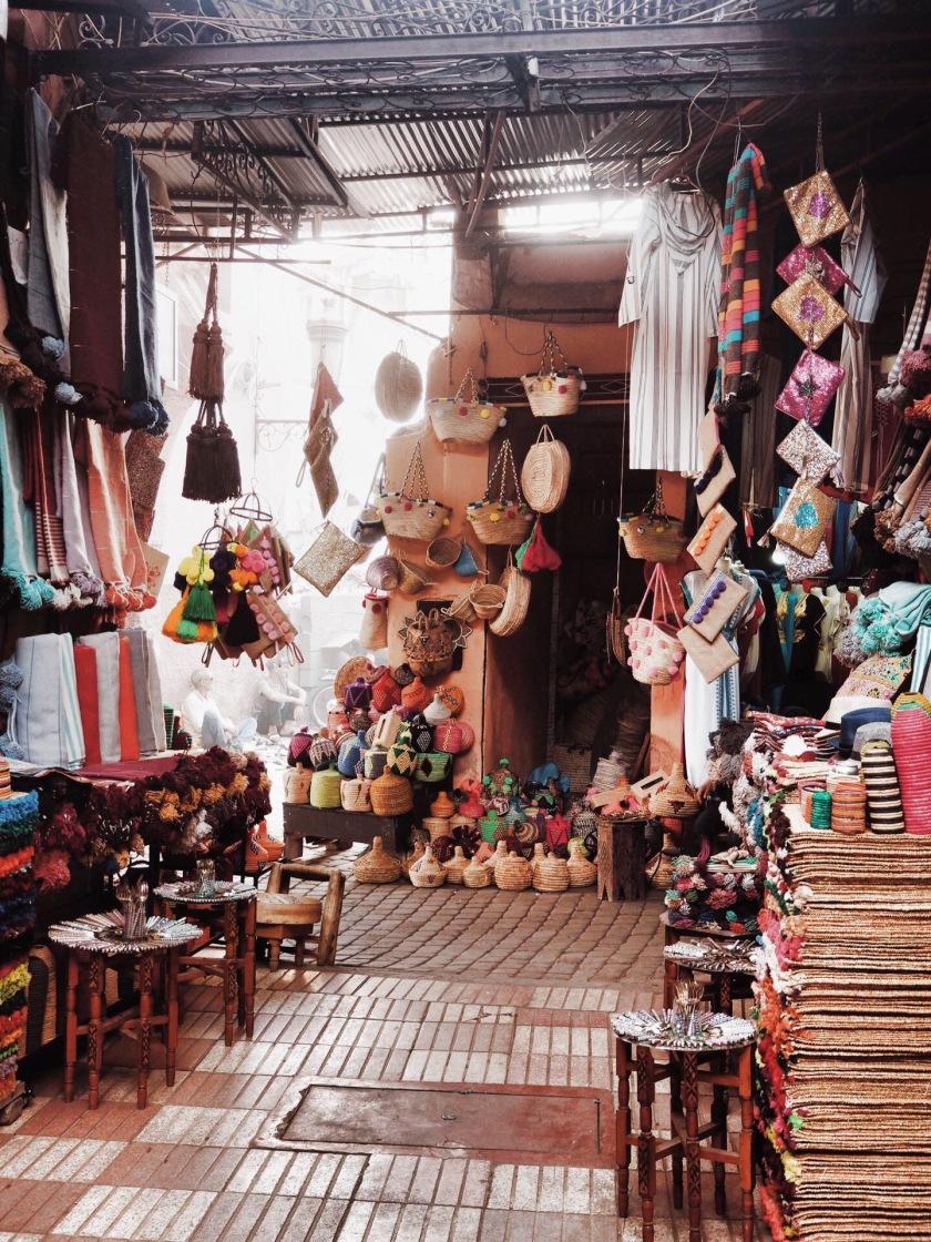 The Souks Marrakech © Janine Juna Grafe