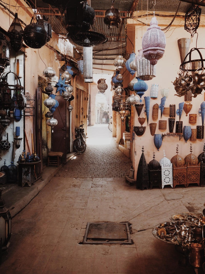 The Souks Marrakech © Janine Juna Grafe