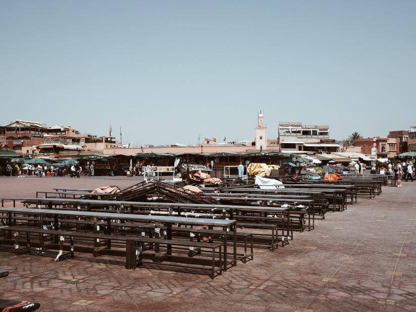 Djemaa El Fna Marrakech © Janine Juna Grafe