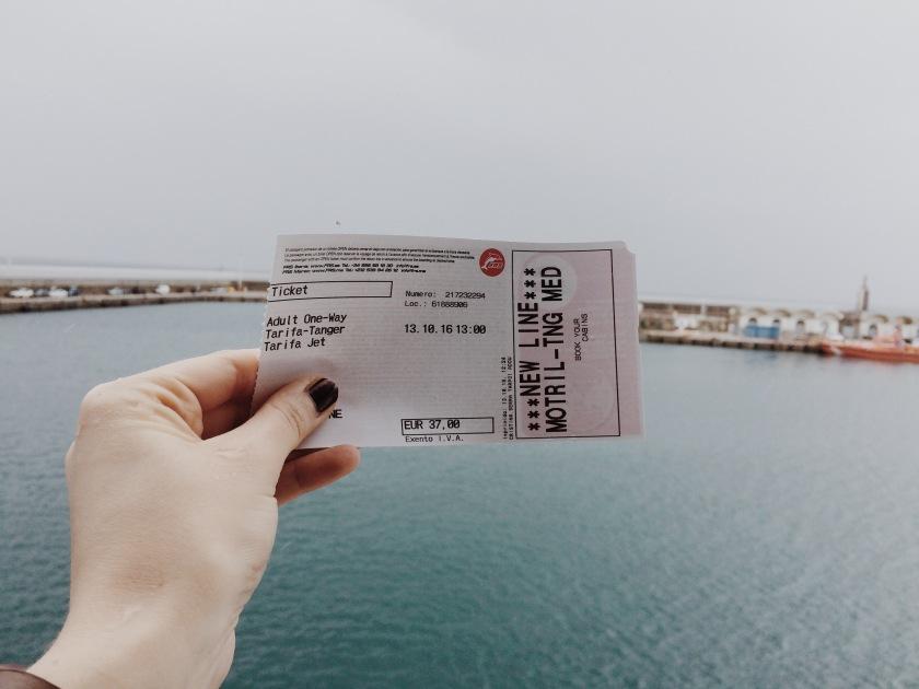 Ferry Tarifa Tangér © Janine Juna Grafe