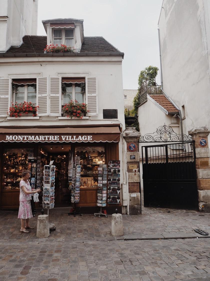 Montmartre Paris © Janine Juna Grafe