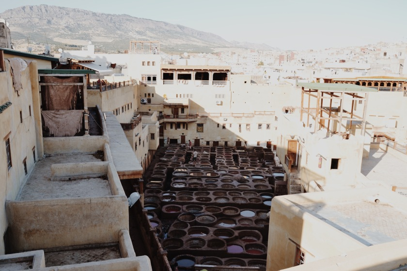 Tanneries Fez Morocco © Janine Juna Grafe