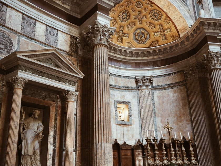 Pantheon Rome Janine Juna Grafe