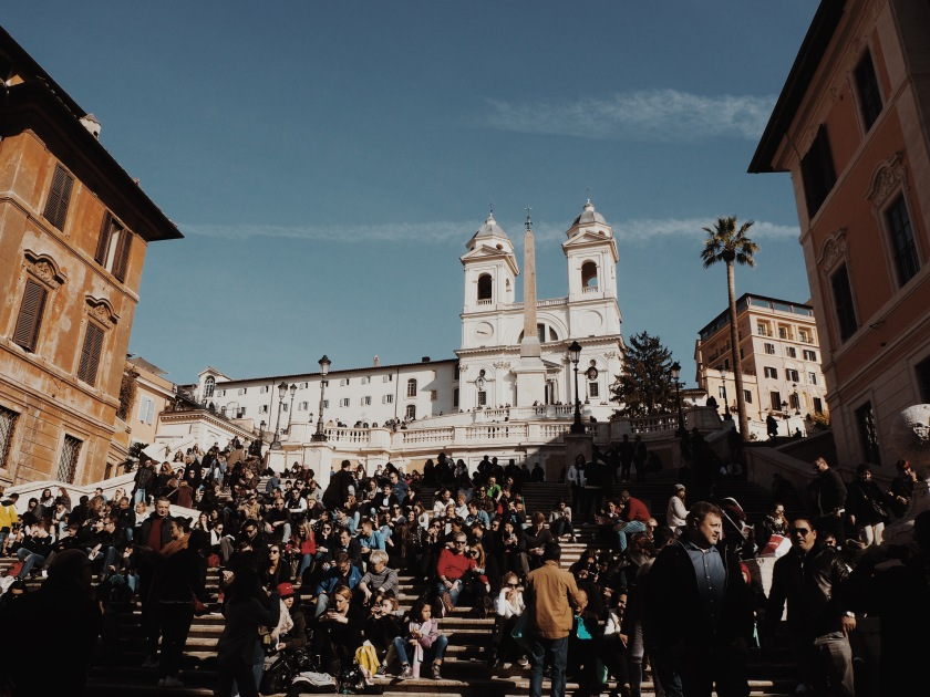 Spanish Steps Rome Janine Juna Grafe
